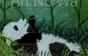 パンダの食事 - 萩原克典
