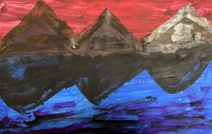 想像上の世界湖面 - 笹谷正博