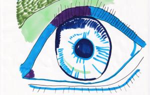 青色の瞳 - ひみーり