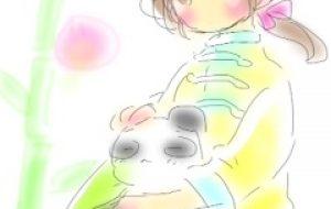 のんびりパンダ - merci beaucoup
