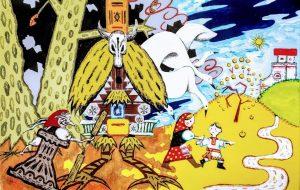 バーバ・ヤガーの白い鳥 - 西日向