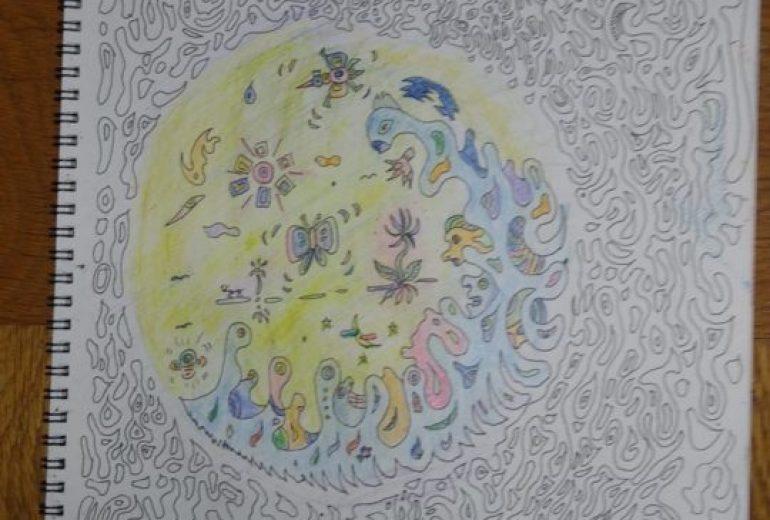 螺旋の宇宙!