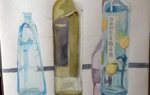 瓶たち - ぽぽ