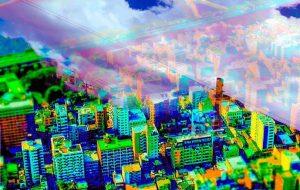 街色の空 - 置山あさ子