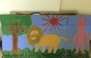 ライオンとの遭遇 - シンゴ