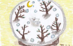 スノードーム シロクマ - toki