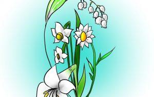 白色花 - ピロリ菌