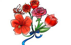 赤色花 - 就労継続支援A型 オール