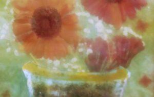 花と花瓶1 - 江田国雄