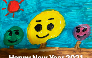 Happy New Year 2021 - 笹谷正博