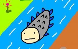 泳ぐ何か - akinobu_n