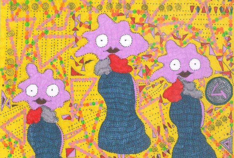 菊芋おばさんトリオ