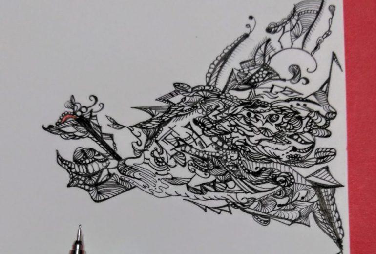 プラーナ織り鶴