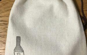 日本酒巾着 - 角+