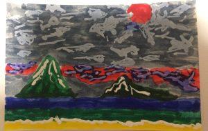 瀬戸内の島  曇りの日 - 森本勝利