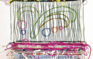 織物と刺繍 - 河村扶示子