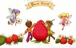 苺祭り - 苺飴