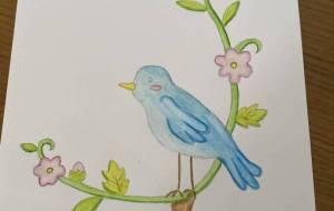 鳥と植物 - 恵麻