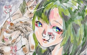 桜の木の下に私の初恋が眠ってる - Kise Okumura