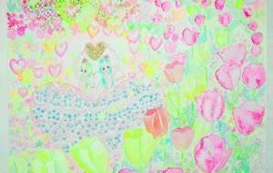 涙のドレスに星くずが散らばる - fantastic  苺花