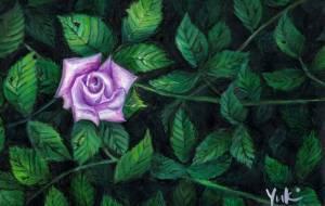 闇に光る薔薇 - Yuki