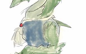 練習描き - 三日月