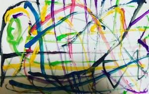 抽象画ぽい - 笹谷正博