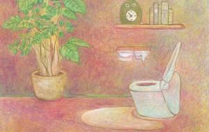 ピンクのトイレ - 伊藤恵美里