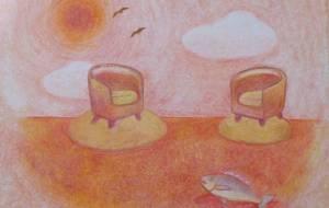 海の上の椅子 - 伊藤恵美里