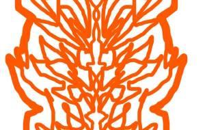 マウス橙ドラゴンマーク - 池田 旬