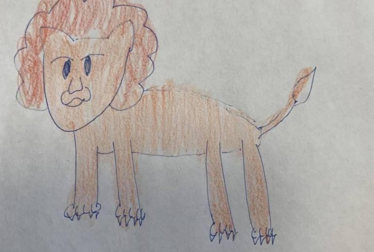 幻覚でみたライオン