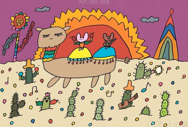 砂漠でサンバ