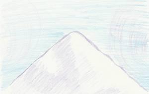 氷山と空 - 岡本ジュンイチ