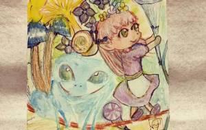 カエルと小人の女の子 - yukine