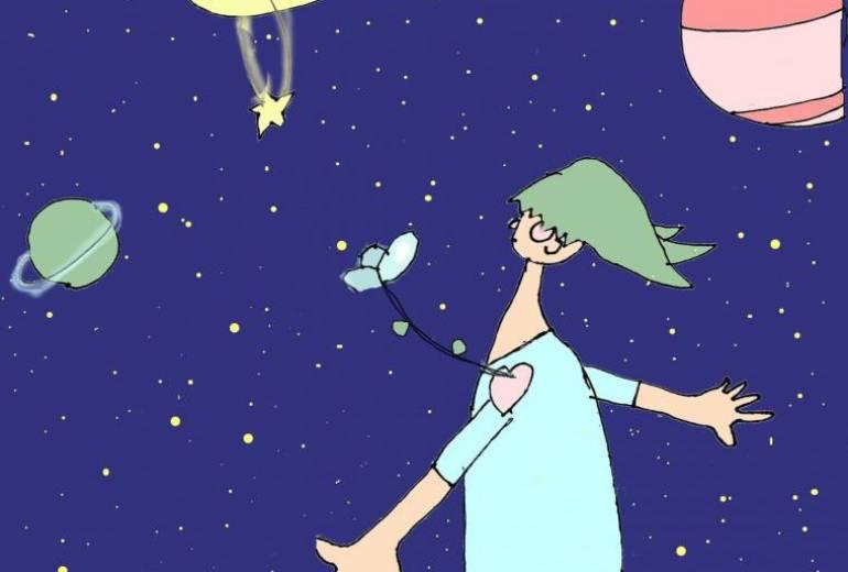 月とわたし