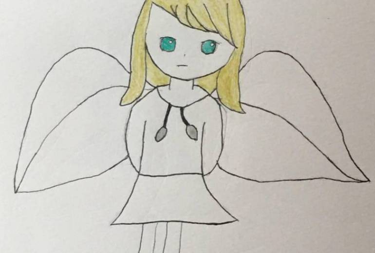 天使の兄妹(妹)