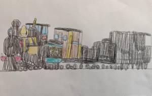 蒸気機関車 - イオ