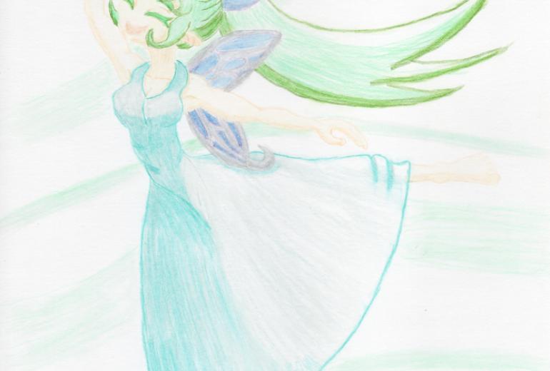 風の精霊 シルフ