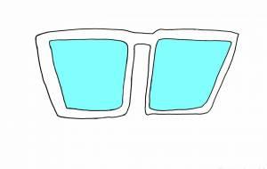 未来のメガネ - yu-ma