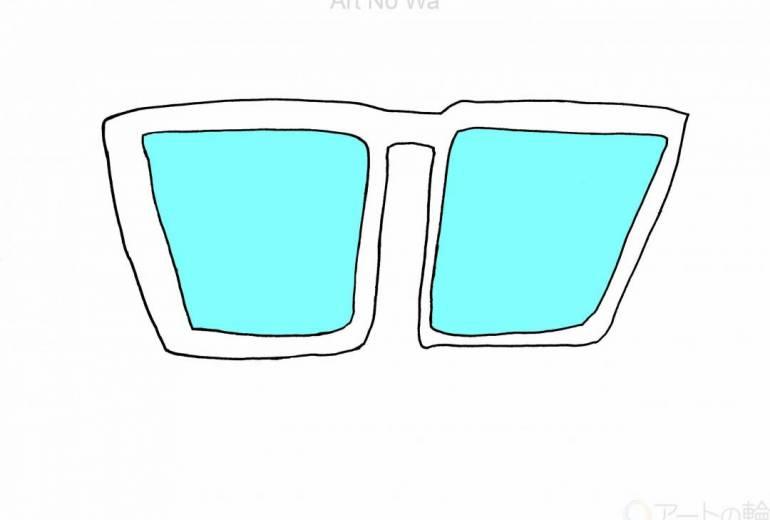 未来のメガネ