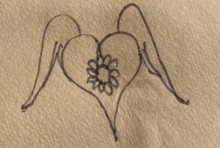 ハート羽花