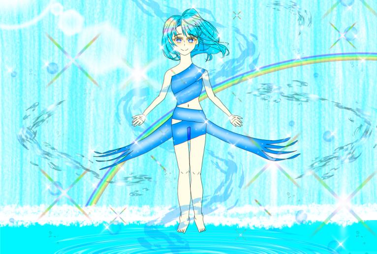水の精霊 - kujira5656