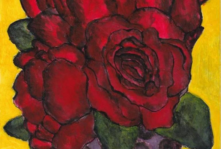 躁と鬱の薔薇の花瓶