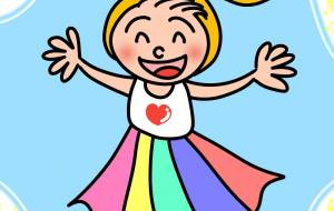 虹の少女 - にゃんれの